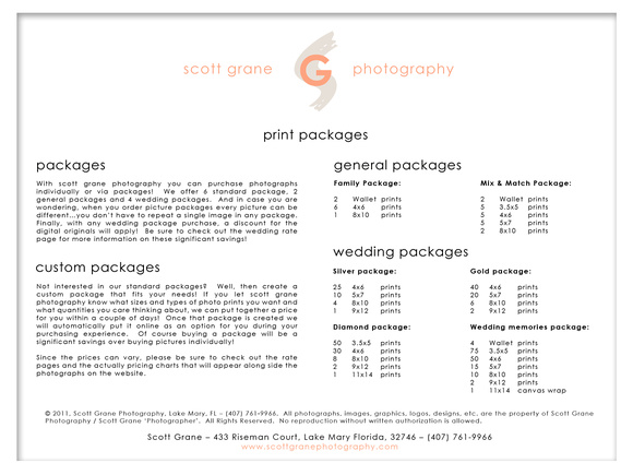 Print Packages